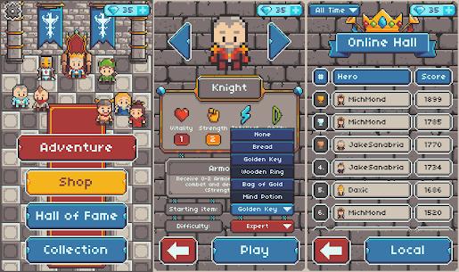 Eternis Heroes – Pixel Roguelike RPG Mod Apk (Unlimited Diamonds) 6