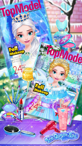ud83dudc78ud83cudff0Ice Princess Makeup Fever screenshots 13