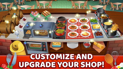 My Pasta Shop - Italian Restaurant Cooking Game apkslow screenshots 4
