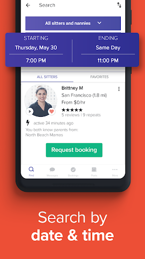 UrbanSitter - Find a Local Caregiver You Can Trust android2mod screenshots 2
