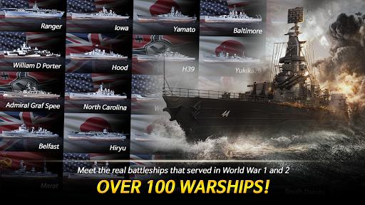 Warship Fleet Command : WW2 Naval War Game  screenshots 4