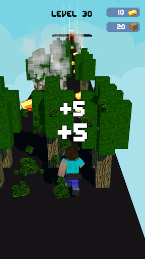 Craft Runner - Miner Rush: Building and Crafting  screenshots 9