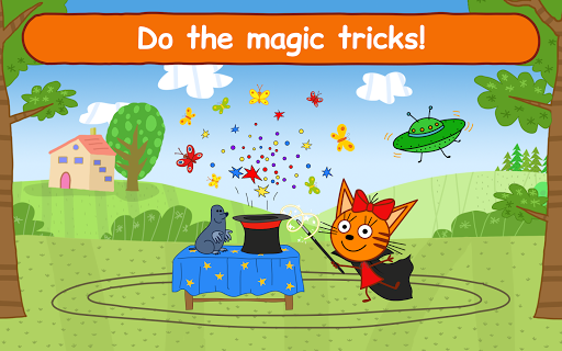 Kid-E-Cats Circus Games! Three Cats for Children  screenshots 14