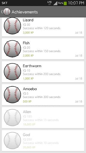 IQ Baseball - Number Puzzle 2.3.0 screenshots 6