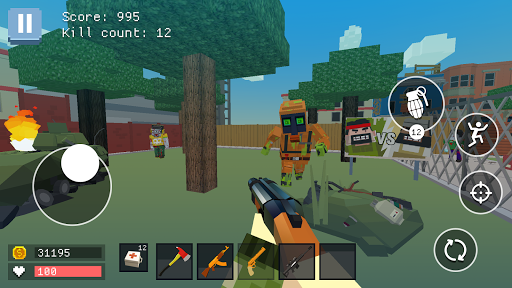 pixel combat: world of guns screenshot 2