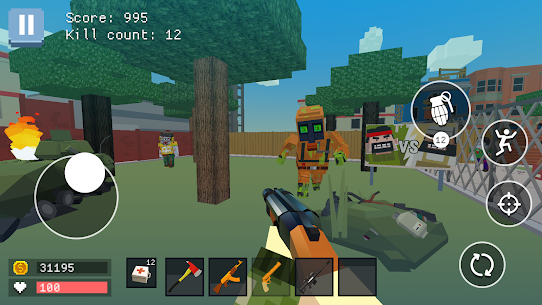 Pixel Combat: World of Guns Hack Game Android & iOS 2