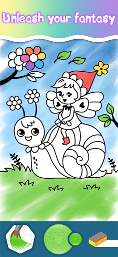 Coloring pages for little princesses  screenshots 5