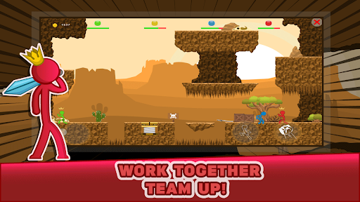 Stickman Héroes: Epic Game screenshot 10