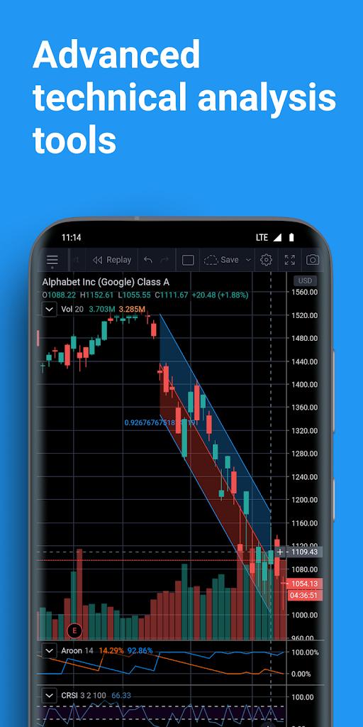 TradingView - Stock Charts, Forex & Bitcoin Ticker 1.11.0 ...