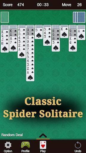 Spider Solitaire 1.33 screenshots 1