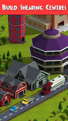 Tiny Sheep Tycoon Games u2013 Idle Wool apkpoly screenshots 4