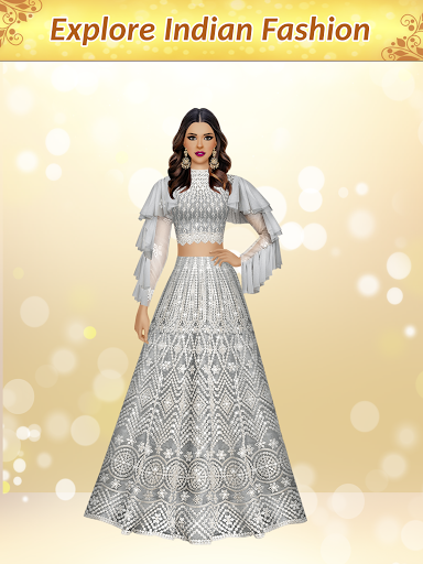 Indian Fashion Dressup Stylist  screenshots 9