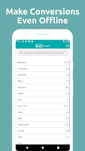 Conversion Calculator Mod Apk, Convert miles (Full Unlocked) 3