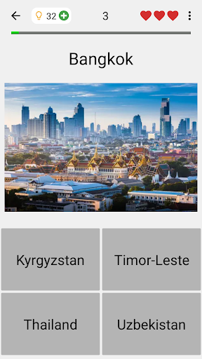 Capitals of All Countries in the World: City Quiz 3.1.0 screenshots 5