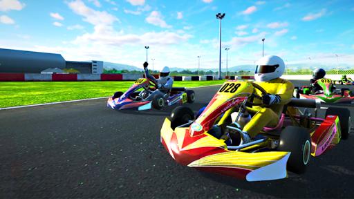 Go kart race buggy kart rush racing beach race  screenshots 1