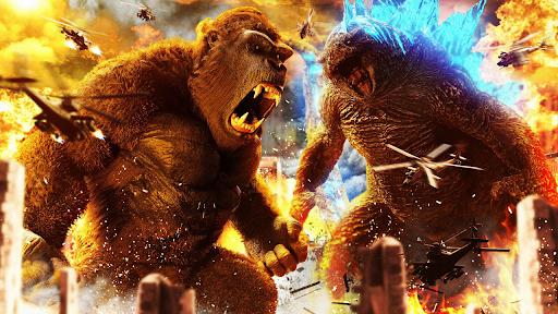 Godzilla Games: King Kong Games  screenshots 1