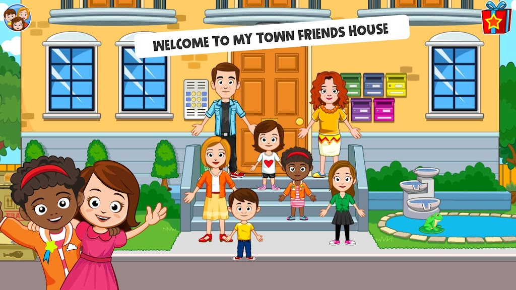 My Town : Best Friends' House games for kids poster 3