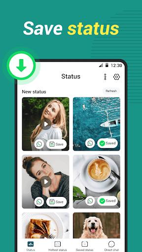 WAStatus - Status Saver for whatsapp status android2mod screenshots 1