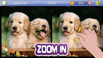 Find The Difference Game - Spot 5 Differences