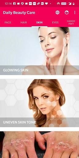 Daily Beauty Care - Skin, Hair, Face, Eyes  Screenshots 3