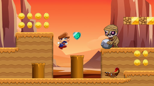 Super Bino Go: New Free Adventure Jungle Jump Game 1.4.7 Screenshots 8