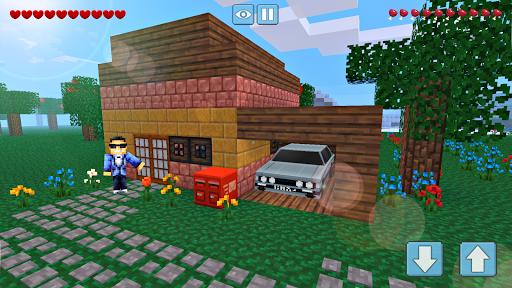 Block Craft World 3D: Mini Crafting and building!  screenshots 1