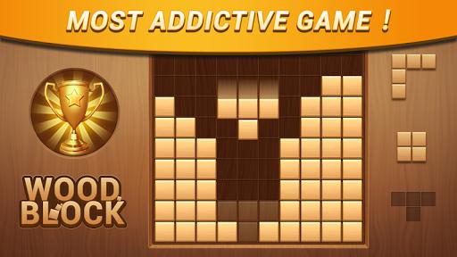 Wood Block - Classic Block Puzzle Game 1.0.7 screenshots 20