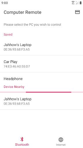 Foto do Jahhow Computer Remote