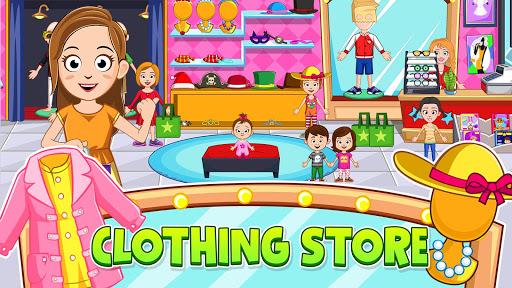 My Town: Stores - Doll house & Dress up Girls Game apktram screenshots 8
