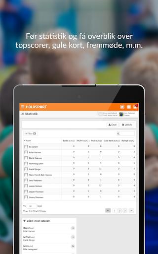 Holdsport - Hurtig tilmelding & kontingentbetaling 6.6.348 screenshots 8