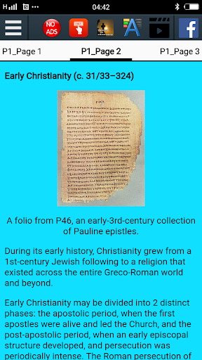 Foto do History of Christianity