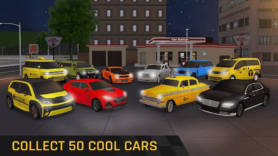 City Taxi Driving: Fun 3D Car Driver Simulator 6