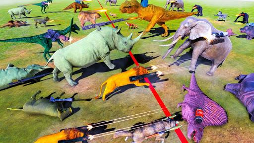 Beast Animals Kingdom Battle: Dinosaur Games 2.6 screenshots 12