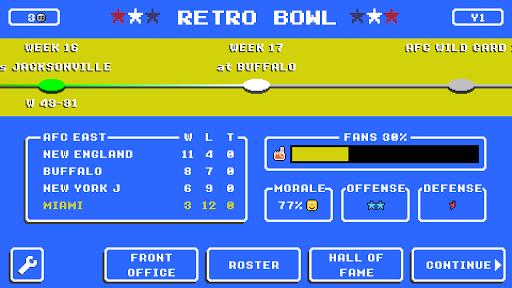 Retro Bowl screenshots 6