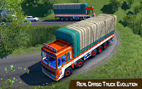 Indian Truck Driver Cargo: Free Transporter Duty 3