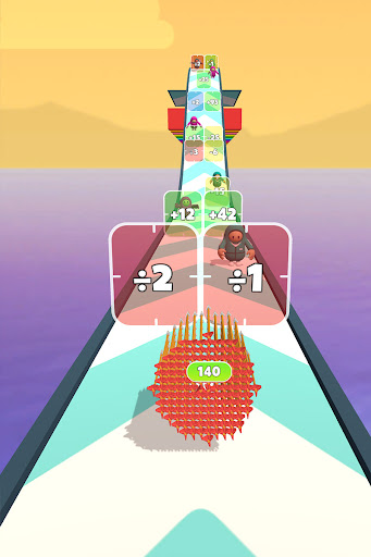 Flying Arrow Fest - Count Masters Brain Challenge  screenshots 10