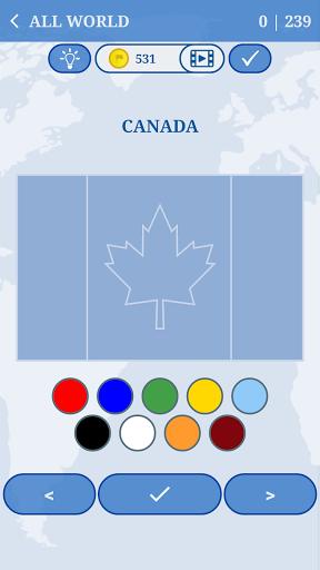 The Flags of the World u2013 World Flags Quiz Apkfinish screenshots 2