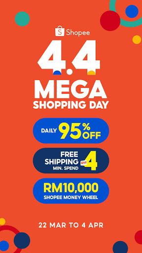 Download ShopeeMY 4.4 Mega Shopping Day 2.68.11 2