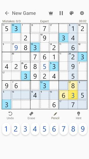 Killer Sudoku - Free Sudoku Puzzles+  screenshots 3