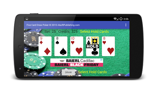 Five Card Draw Poker 1.20 screenshots 3