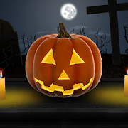 Halloween Pumpkin 3D Live Wallpaper
