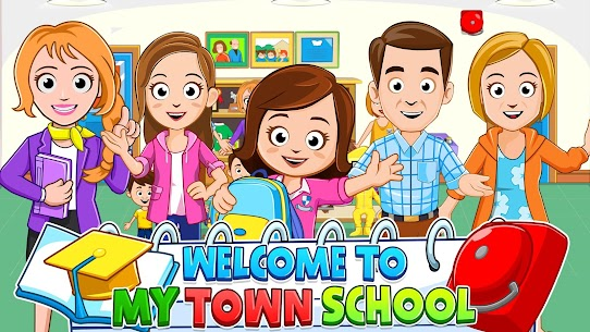 My Town : Play School for Kids Free For Android (MOD, Unlimited Money) 1