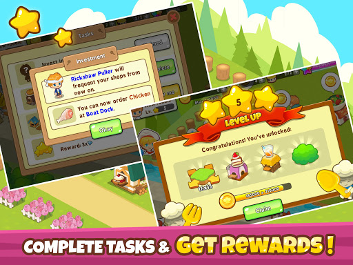 Restaurant Paradise: Sim Builder 1.11.1 Screenshots 8