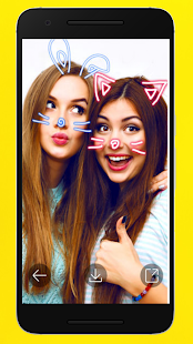 filters for snapchat : sticker design Screenshot