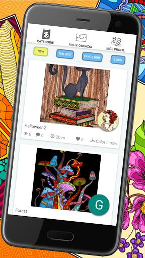 Colorish - free mandala coloring book for adults  screenshots 3