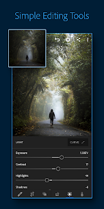 Adobe Lightroom – Photo Editor & Pro Camera 1