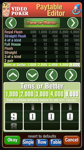 King Video Poker Multi Hand 02.00.19 screenshots 4