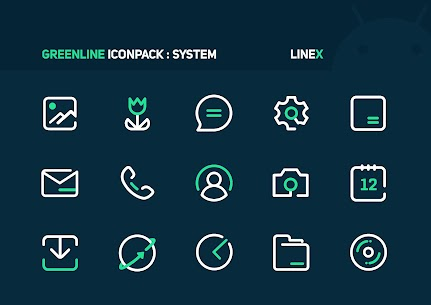 GreenLine Icon Pack APK Download for Android 1