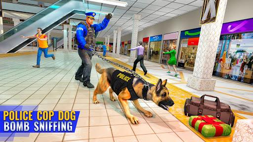 US Police Dog Shopping Mall Crime Chase 2021 2.1 screenshots 1