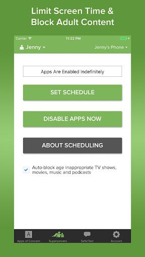 Text Monitoring Parental Control App: SaferKid 1.0.41 Screenshots 4